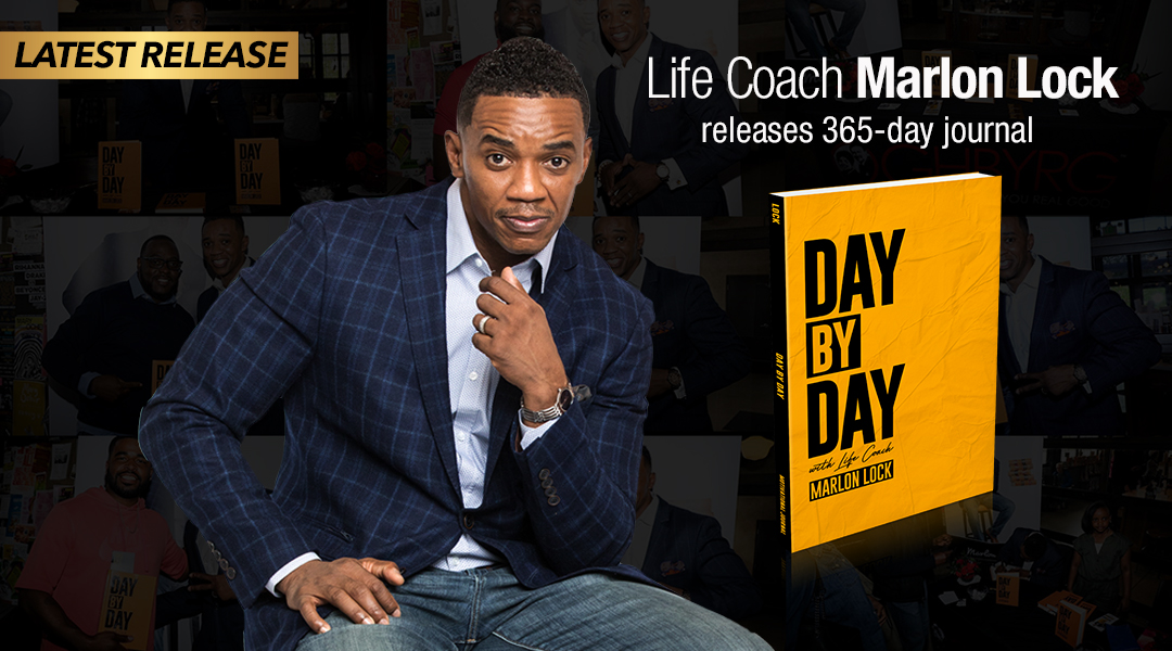 Life Coach Marlon Lock releases 365-day journal for men: Day By Day